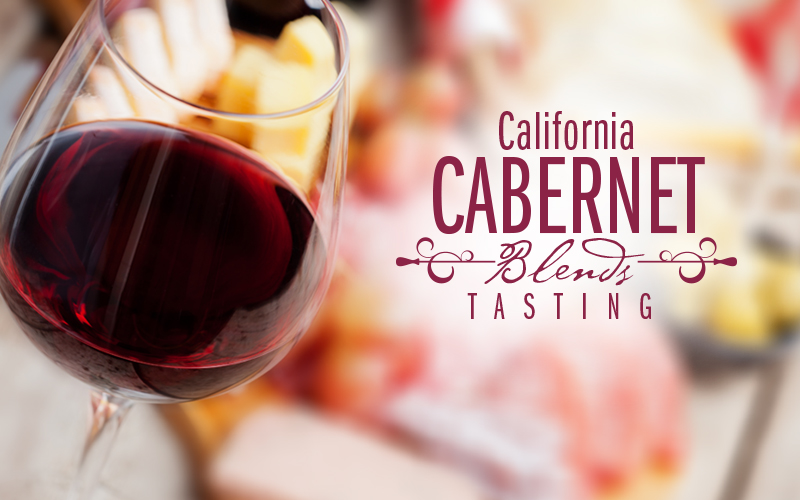 California Cabernet Blends Tasting - October 19, 2015 - 6pm